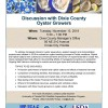 Discussion with Dixie County Oyster Growers