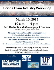 Clam Workshop FLYER PICTURE