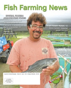 Florida aquaculture was the focus of a recent issue (October 2013) of Fish Farming News. Read about shellfish farming on pages 17‐19.